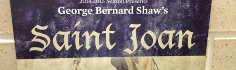 "AU Theatre Presents ""Saint Joan"" Opening October 3rd"