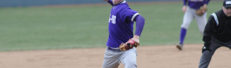AU Baseball Splits Home Opener Double-Header