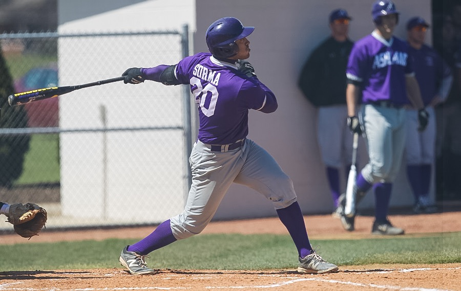 Sophomore 3B JP Sorma running the bases (Photo courtesy of Ashland Athletics/ GoAshlandEagles.com)