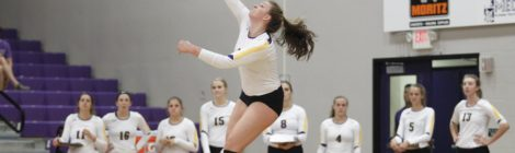 AU Volleyball wins two games in weekend series