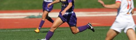AU Women's Soccer wins on Senior Day