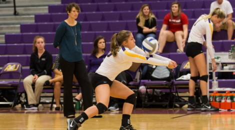 AU Volleyball sweeps Lake Erie