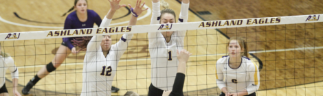 AU Volleyball downs Wayne State in GLIAC Quarterfinal