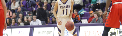 AU Men's Basketball withstands the Storm
