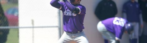 AU Baseball splits Saturday doubleheader