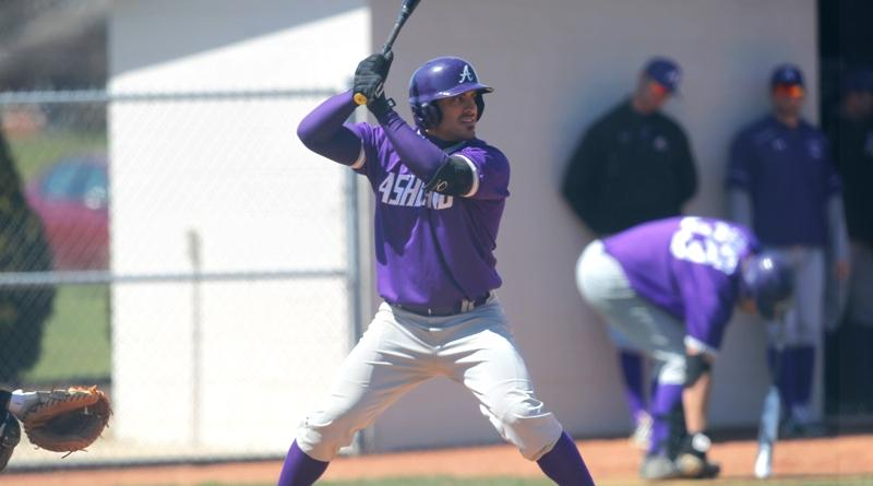 Junior second baseman J.P. Sorma (Photo courtesy of Ashland Athletics/ GoAshlandEagles.com)