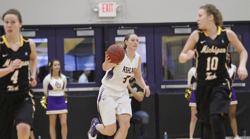 Junior forward Laina Snyder (Photo courtesy of Ashland Athletics/ GoAshlandEagles.com)