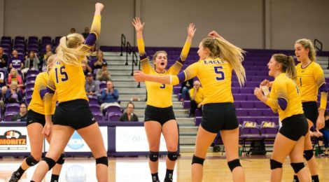 AU Volleyball rolls over Northwood