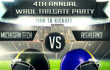 4th Annual WRDL Tailgate Party set for 10/14/17