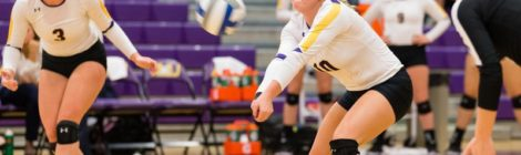AU Volleyball swept by Lakers