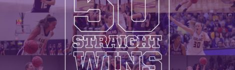 AU Women's Basketball secures 50th straight win